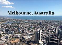 Melbourne Australia, a city full of energy.