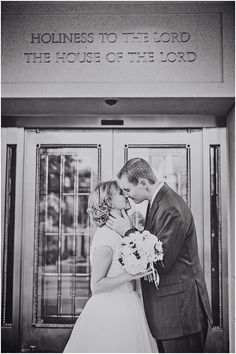 Brigham City Temple Wedding Photos // Dani Christensen Photograph // www.danichristensen.com
