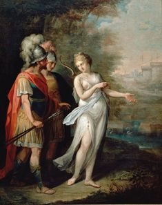 Angelika Kauffmann_Venus, Aeneas und Achates