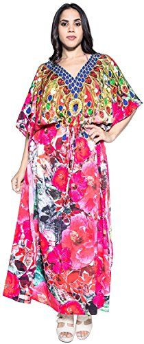 Womens Soft Likre DESIGNER Hibiscus Kimono Beach Kaftan Summer Dress Maxi Pink * Check out the image by visiting the link. Maternity Swimwear, Maternity Dresses, Digital Print Textiles, Beach Dresses, Summer Dresses, Beach Kaftan, Lounge, Pink Maxi, Bikini Cover Up