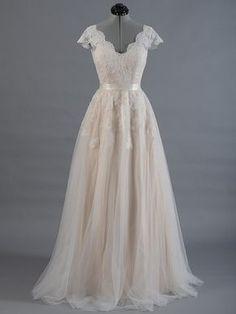 Vestido de Novia de encaje vestido nupcial por ELDesignStudio