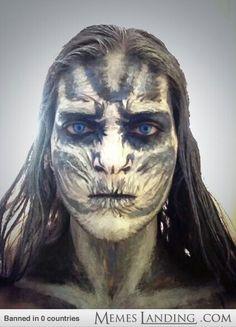 White Walker make up