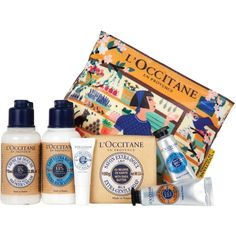 L'Occitane Shea Butter Discovery Collection (70 BRL) ❤ liked on Polyvore featuring beauty products and fillers