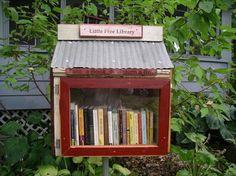 little libraries.  love.