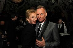 Sting Trudie Styler Photos: Maroon 5 Grammy After Party & Adam Levine Fragrance Launch Event
