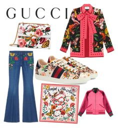 """Presenting the Gucci Garden Exclusive Collection: Contest Entry"" by dashord ❤ liked on Polyvore featuring Gucci and gucci"