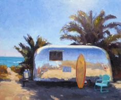 Tim Horn_Surf Camp_20x24 oil