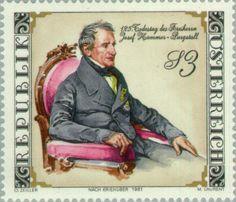 Joseph von Hammer-Purgstall (1774-1856) orientalist