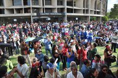 En Hecho en Casa, la Fiesta de la Cultura, la gente disfrutó de variados espectáculos gratuitos, en los exteriores y en salas de la Casa de la Cultura Ecuatoriana.