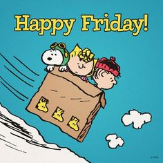 Happy Friday (Snoopy, Sally, Charlie Brown sledding in a box down snow) Peanuts Gang, Peanuts Cartoon, Charlie Brown And Snoopy, Peanuts Comics, Snoopy Love, Snoopy And Woodstock, Happy Friday Pictures, Friday Images, Peanut Pictures