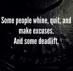 Me Deadlift ..... and you?