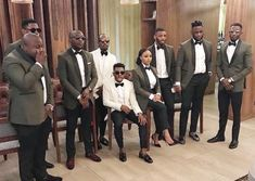 Groomswoman in same tux dinner jacket and bowtie as groomsmen, but wears pumps Best Man Outfit Wedding, Wedding Men, Wedding Suits, Wedding Ideas, Engagement Party Dresses, Bridal Party Dresses, Groomsmen Outfits, Groomsman Attire, Groomsmen Tuxedos