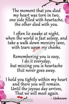 I miss you mom. How am I supposed to go on without you? I think about you every minute and I can't stand not seeing you. Now Quotes, Life Quotes Love, Hurt Quotes, Year Quotes, Miss Mom, Miss You Dad, The Words, Rip Daddy, Be My Hero