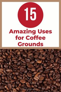 Before you brew that next cup of coffee, don't throw away the used coffee grounds. There are so many different uses for coffee grounds, click through to read about 15 awesome uses for used coffee grounds. #coffeegrounds #findingourgreenlife Uses For Coffee Grounds, Food Waste, Green Life, Healthy Living Tips, Diy Cleaning Products, Inspire Others, Alternative Medicine, Natural Living, Helping People