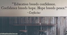It all begins with our #education.