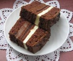 Polish Desserts, Polish Recipes, Sweet Recipes, Cake Recipes, Sweets Cake, International Recipes, Delicious Desserts, Food And Drink, Cooking Recipes