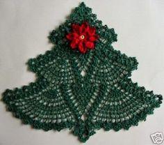Hobby lavori femminili - ricamo - uncinetto - maglia: albero schema uncinetto
