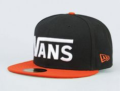 Drop V Black-Tigerlily 59Fifty Fitted Baseball Cap by VANS x NEW ERA