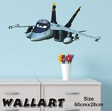 Disney Planes Wall Stickers Boys Bedroom Full Colour Style 1 Part 48