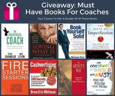 The Best Books For Coaches Giveaway #BookingYeah!