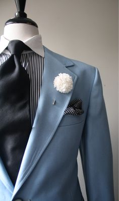 Powder blue jacket