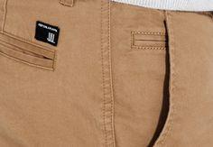 a5012bc0b8b4 Pantalon slim poches army Camel Homme - Jules Pull Homme