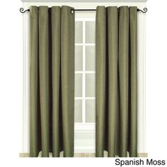 Glasgow Grommet Curtain Panel | Overstock.com Shopping - Great Deals on Ricardo Curtains