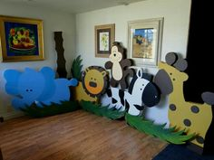 Animals for safari party