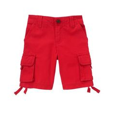 Toddler Boys True Red Cargo Shorts by Gymboree