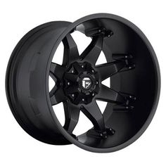Fuel Wheels/Rims: Fuel Wheels Octane Deep Black D509 Octane 16x8 22x14 wheel size