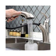 キッチン蛇口 台所蛇口 引出し式水栓 冷熱混合水栓 光沢
