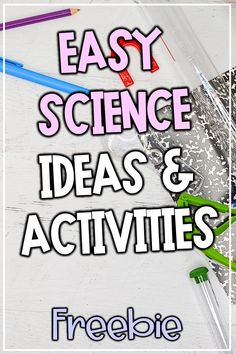 Easy and free science ideas and activities for your classroom. Get your upper elementary and middle school students interested in science with this fun, hands on science activity! I'm sharing an M Elementary Science, Science Classroom, Teaching Science, Upper Elementary, Teaching Tools, Teaching Resources, Teaching Ideas, Middle School Hacks, Middle School Teachers