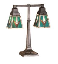 Meyda 20 Inch H Valencia Mission 2 Arm Desk Lamp, Turquoise Rustic Lamps, Rustic Lighting, Valencia, Western Lamps, Native American Blanket, Brown Granite, Lamp Shade Store, Diffused Light, Lamp Sets