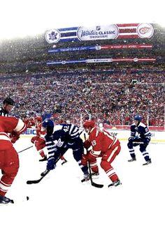 Toronto Maple Leafs vs Detroit Red Wings