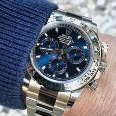 Rolex Watches Collection : Rolex Cosmograph Daytona White Gold 116509 - Watches Topia - Watches: Best Lists, Trends & the Latest Styles Rolex Daytona Gold, Rolex Daytona Watch, Rolex Cosmograph Daytona, Gold Rolex, Rolex Submariner, Rolex Watches For Men, Luxury Watches For Men, Men's Watches, Men Accessories