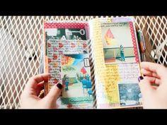 The Traveler's Notebook - Part 2: How I journal - YouTube