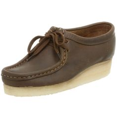 CLARK'S WOMEN'S WALLABEE LEATHER SHOES