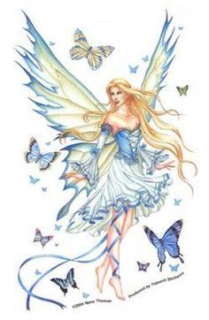Prelude In Blue Fairy Sticker Net Sales