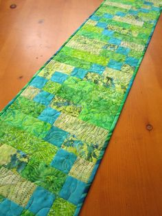 #The Craft Star           #table                    #Batik #Quilted #Table #runner                      Batik Quilted Table runner                                                    http://www.seapai.com/product.aspx?PID=708104