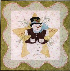 Christmas Angel Quilt Pattern   anita s christmas quilt bom block 1 what a great christmas quilt ...
