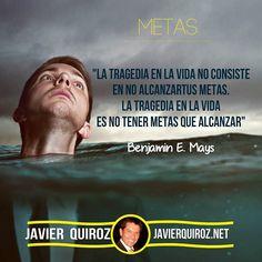 Debes Tener Metas #frasepoderosa - Coaching Marketing y más en http://ift.tt/1OECVwE
