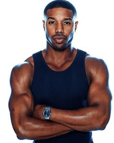 Someone Call Because Michael B. Jordan Is Smokin' Hot in Men's Health Holy Biceps! Someone Call Because Michael B. Jordan Is Smokin' Hot in Men's HealthHoly Biceps! Someone Call Because Michael B. Jordan Is Smokin' Hot in Men's Health Fine Black Men, Gorgeous Black Men, Handsome Black Men, Black Boys, Fine Men, Beautiful Men, Hot Black Guys, Black Man, George Michael