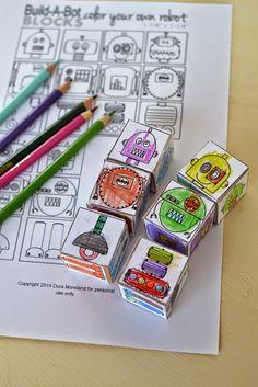 10-Paper-Crafts-For-Kids-Make-Your-Own-Robot-Blocks