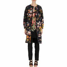 Dreamy floral coat by Dries Van Noten.