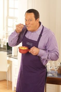 "David Venable, host of ""In the Kitchen with David"" on QVC...I love his ""happy dance""!"