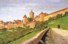 Aleksander Gierymski Mury obronne 1895.jpg