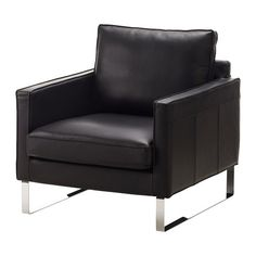 MELLBY Chair IKEA Soft, hardwearing and easy care leather ages gracefully.