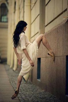 <<Lyubov Andreyeva (Eifman Ballet) # Photo © Sergey Sinitsyn>>