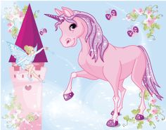 Princess Room, Little Princess, Big Girl Rooms, Kids Rooms, Girls Bedroom, Bedrooms, Murals For Kids, The Last Unicorn, Unicorn Wall