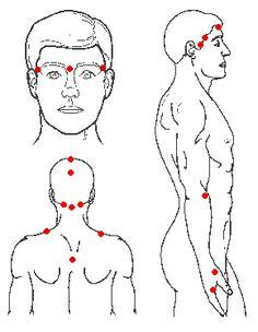 points to heal Headaches.